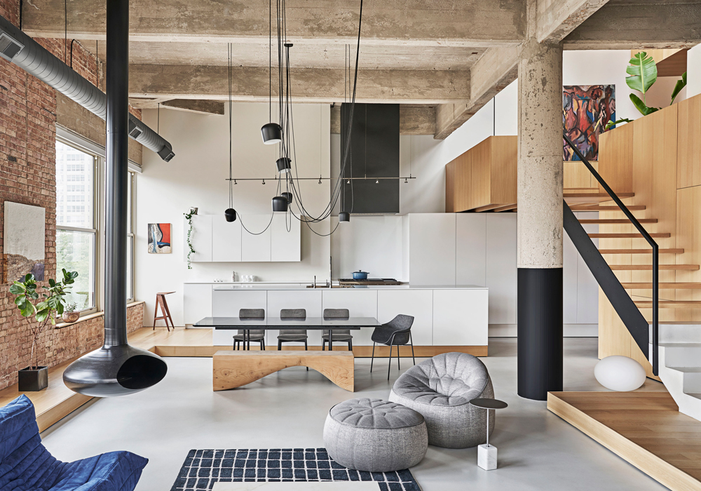 Um espaço moderno e acolhedor