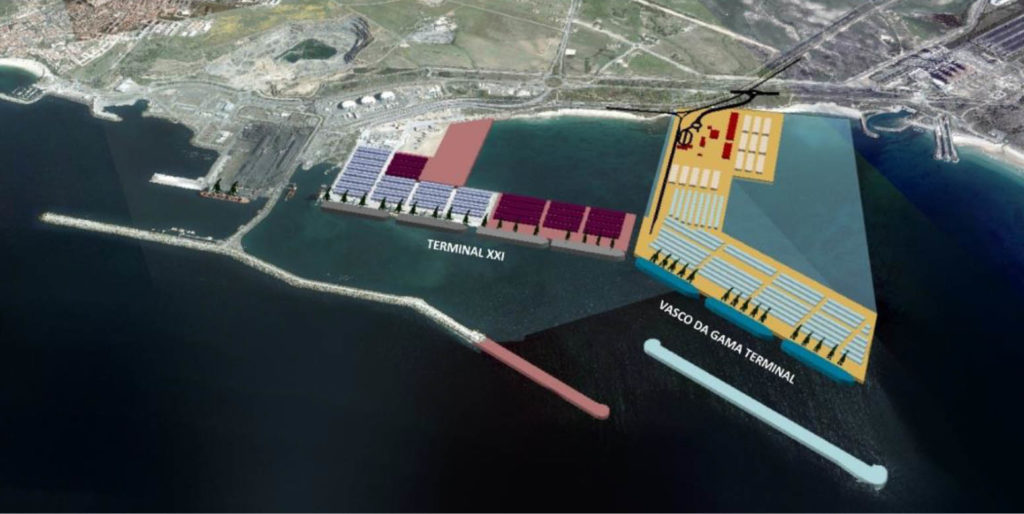 Terminal Vasco da Gama / Porto de Sines