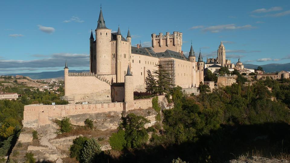 Castelo de Segovia (Espanha)