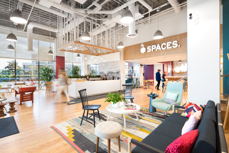 Exemplo de um dos espaços de cowork da Spaces / Spaces