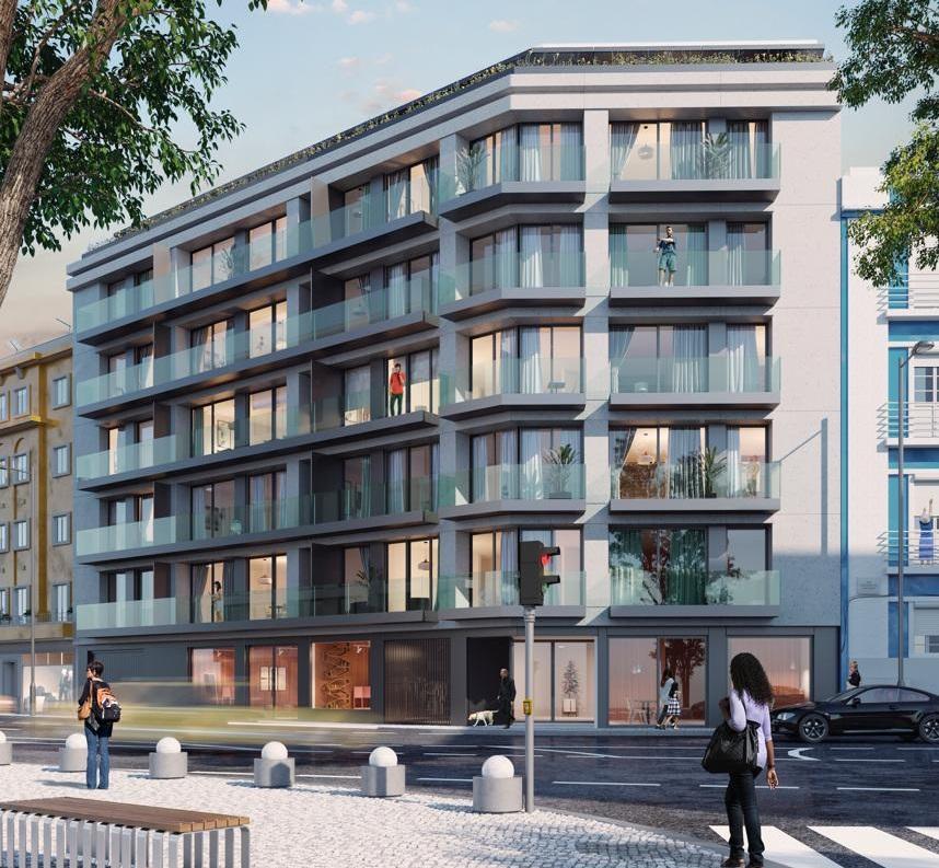O Visconde de Santarém – Saldanha, em Lisboa, terá 22 sofisticados apartamentos de tipologias T1 a T4 / Civilria