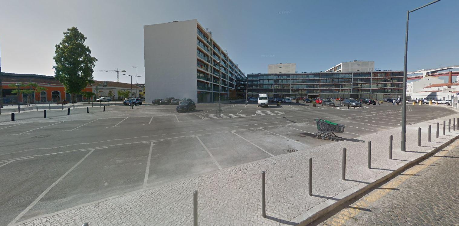 Nesta zona, na Avenida de Ceuta, vai nascer o Alcântara Rio 2 / Google Maps