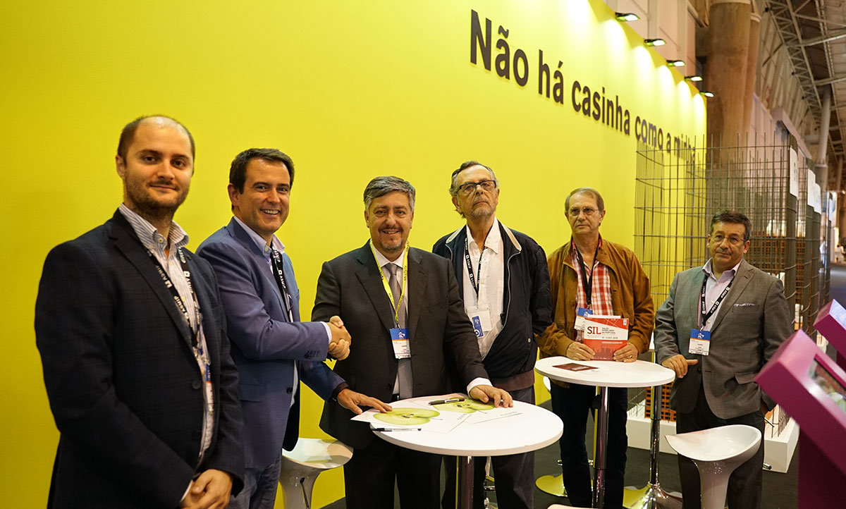 O acordo entre o idealista e a ASMIP foi celebrado durante o SIL 2019