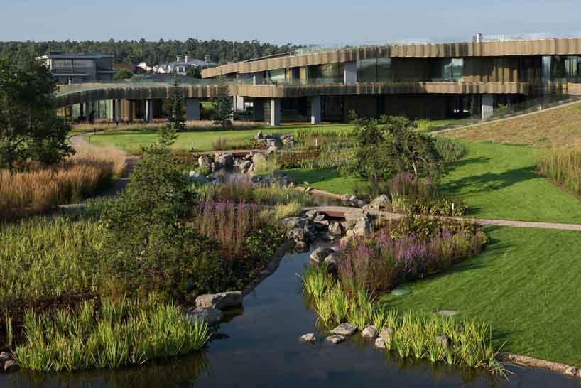 Grandes espaços para os jardins
