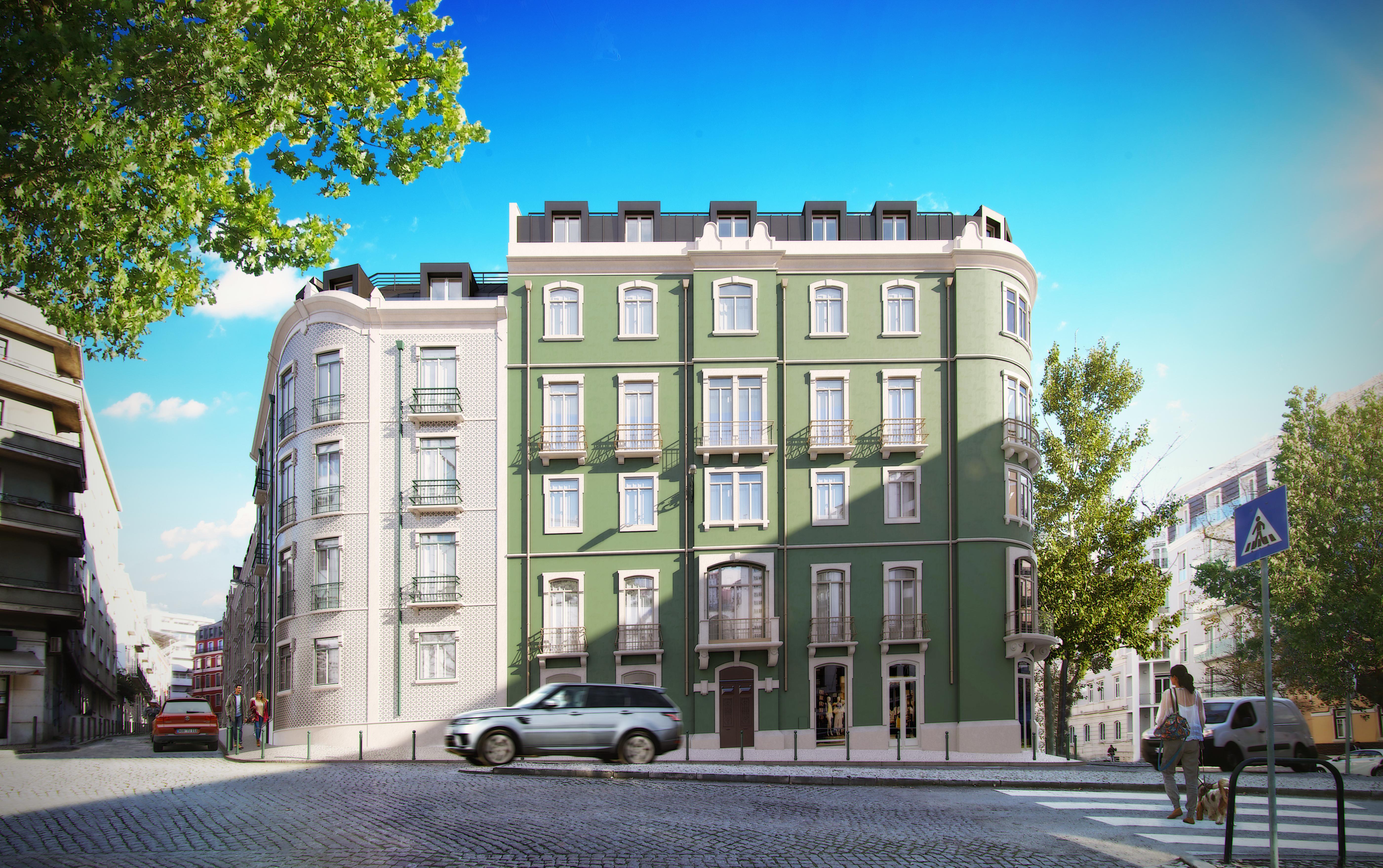 Empreendimento Sottomayor Apartments / Coporgest