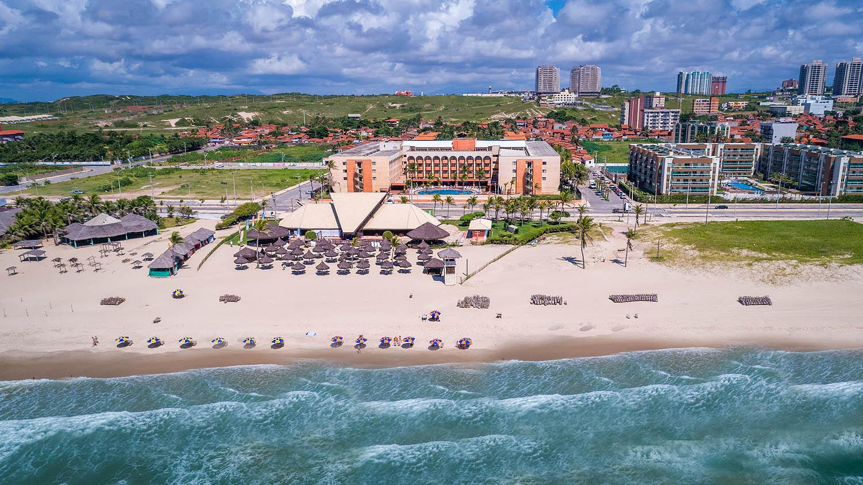Vista aérea do Vila Galé Fortaleza, no Brasil / Grupo Vila Galé