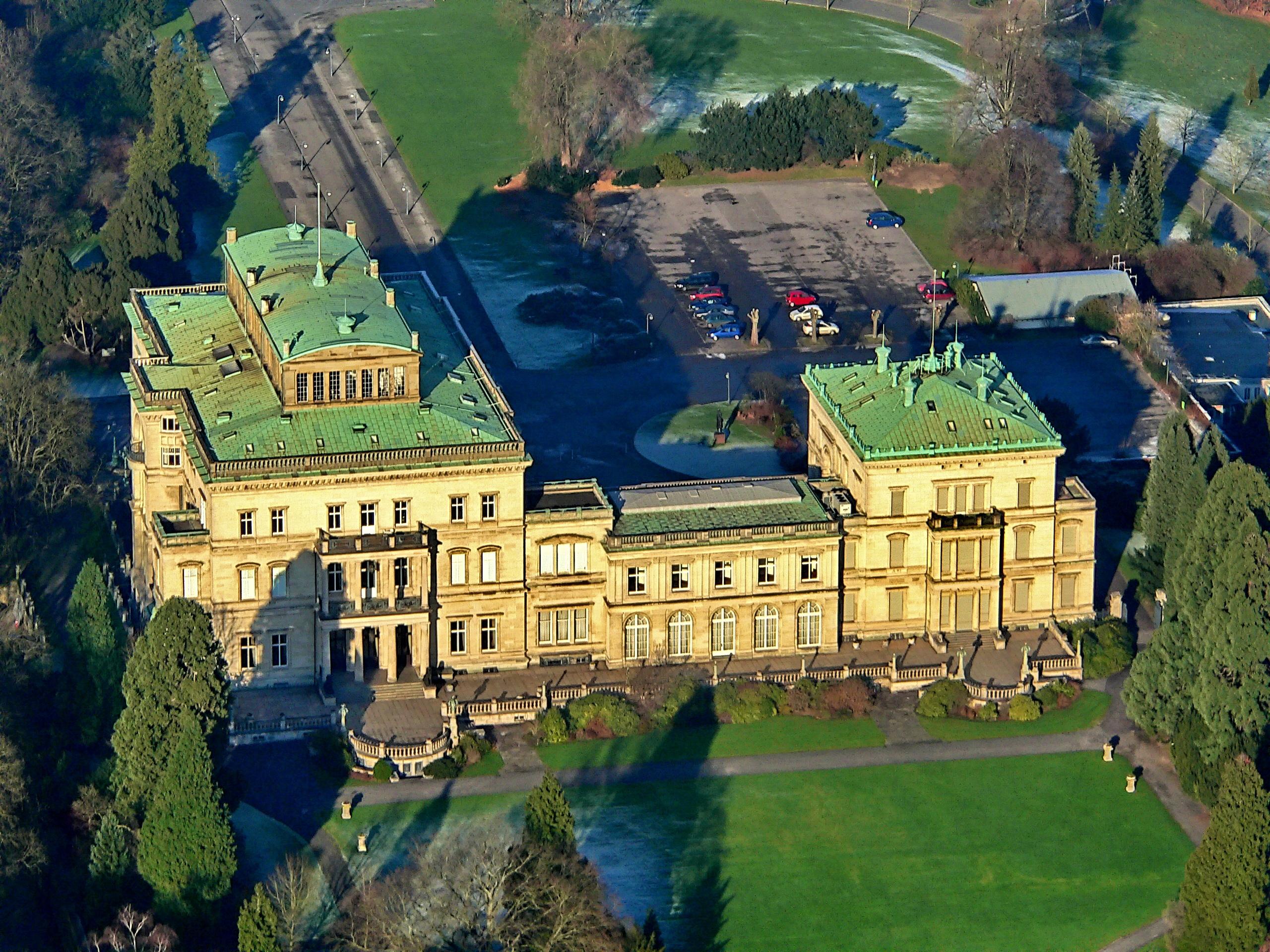 Villa Huegel em Essen, Alemanha / Wikimedia commons