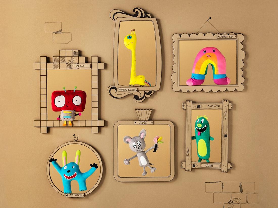 Desenhada por crianças