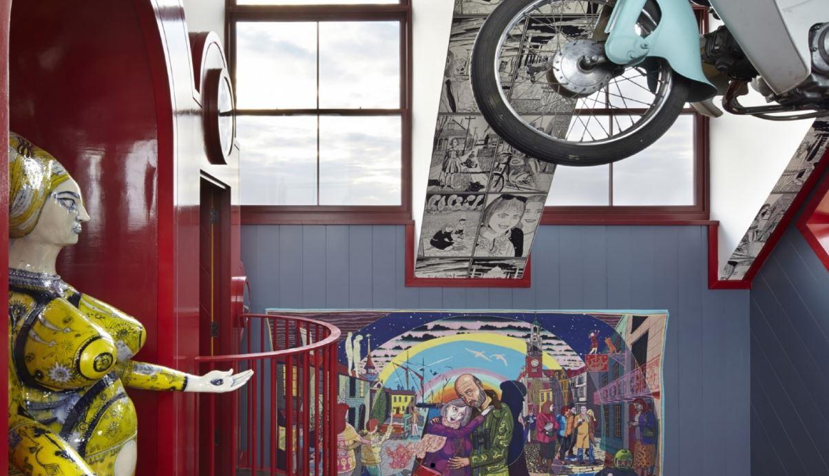 Colaboração da FAT Architecture e do artista Grayson Perry
