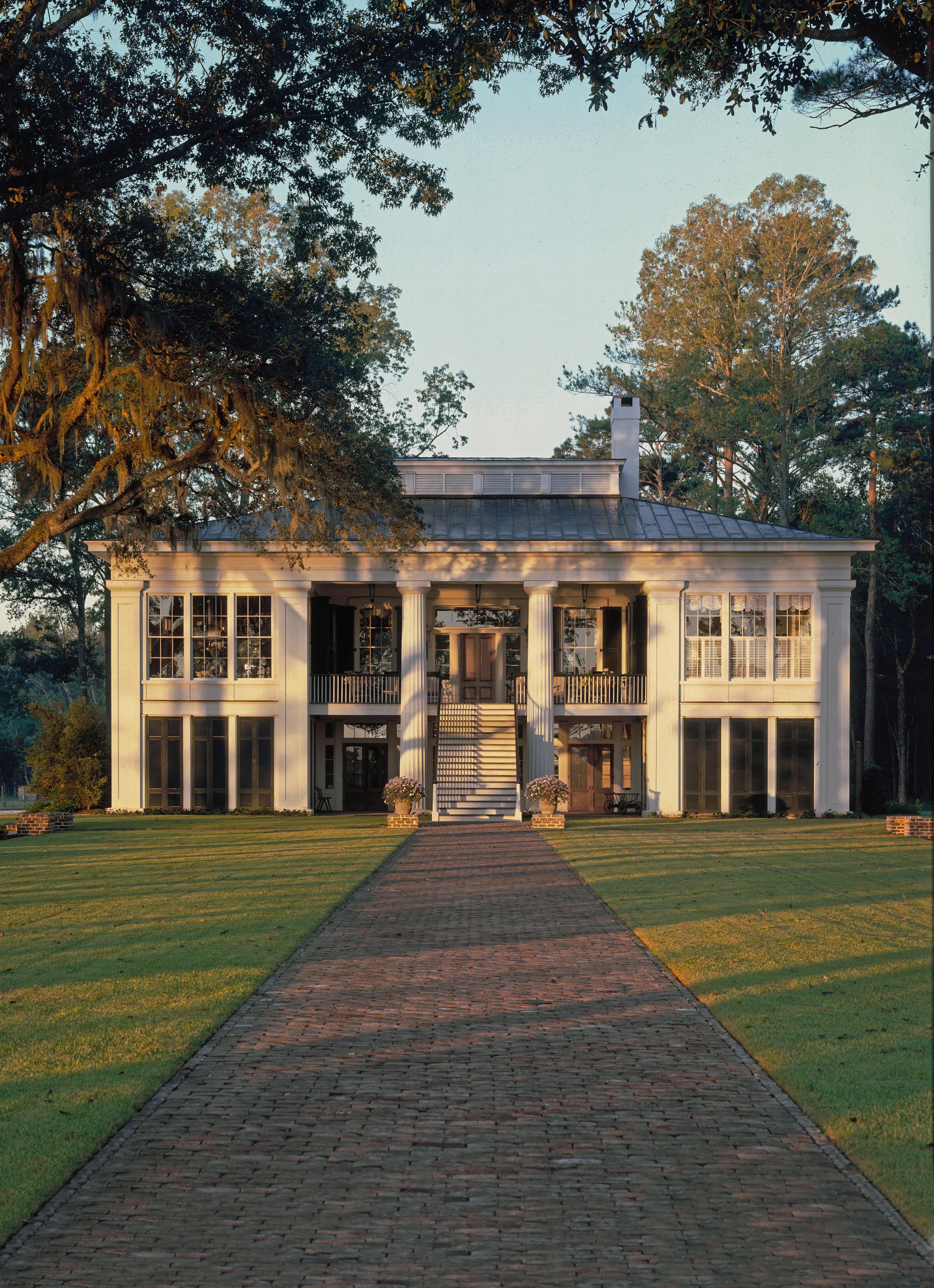 Uma verdadeira mansão de luxo
