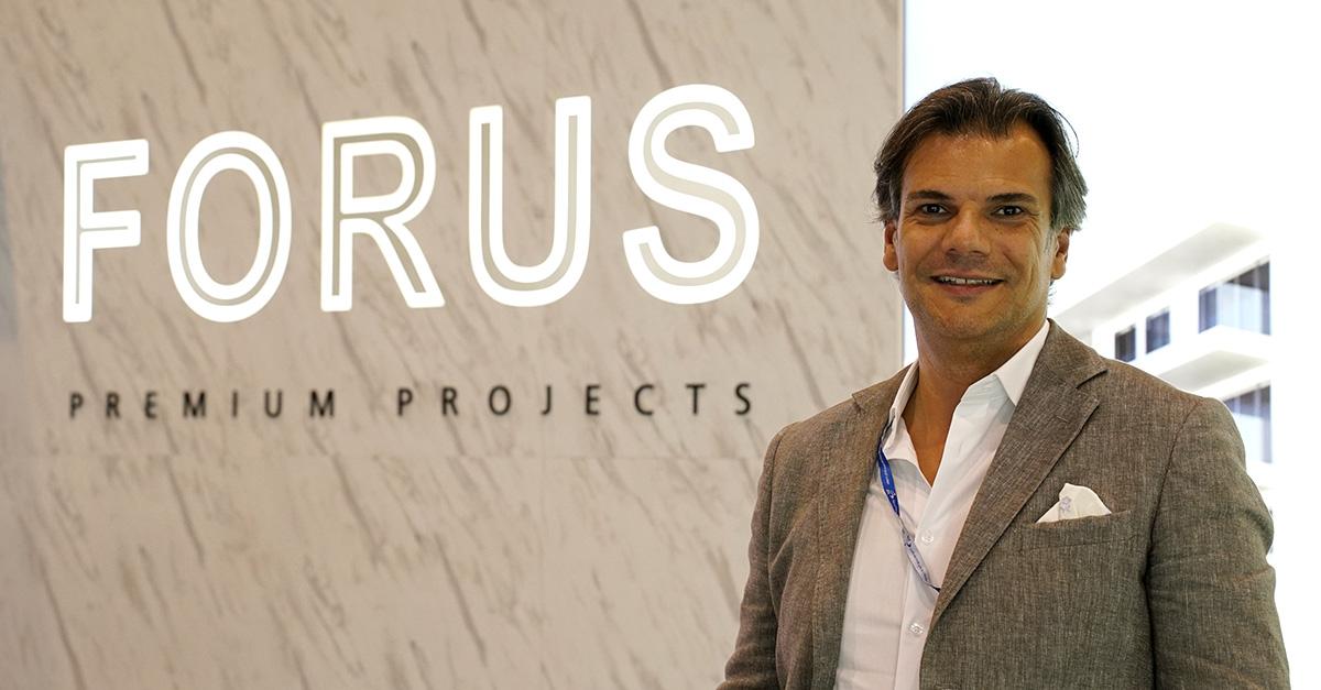 Danny Venceslau, CEO da Prime Avenue, que comercializa os projetos do grupo Forus