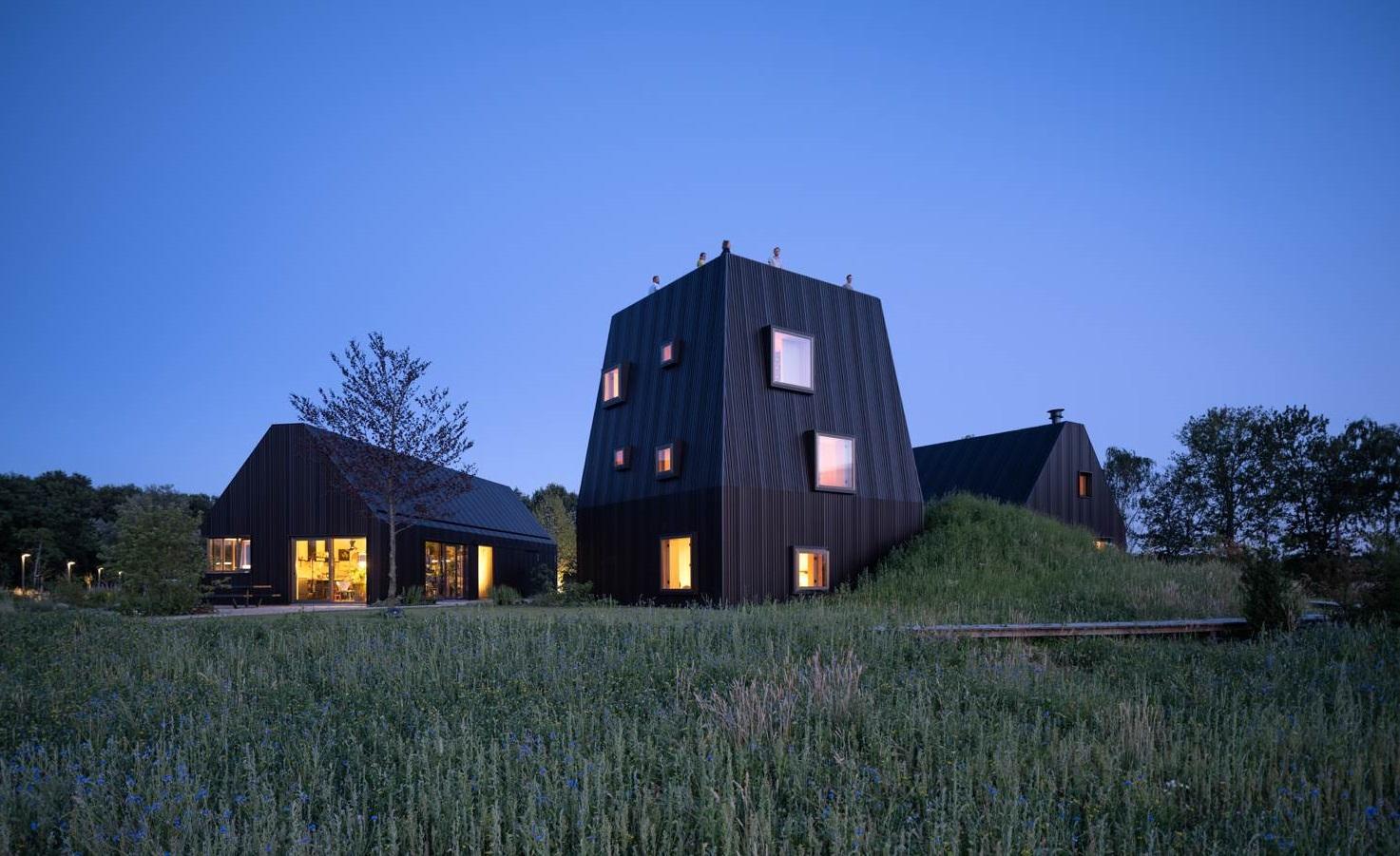 Uma residência remota no interior da Holanda