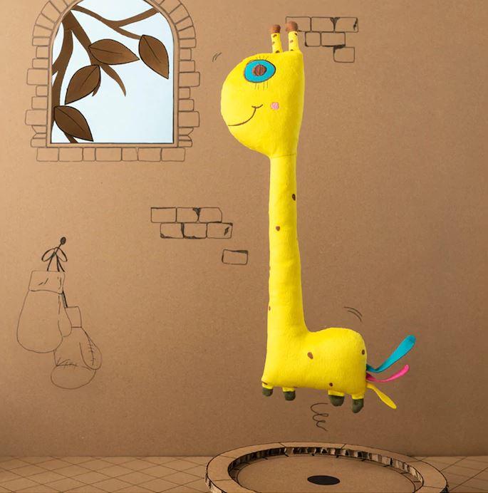 Girafa Arco-íris