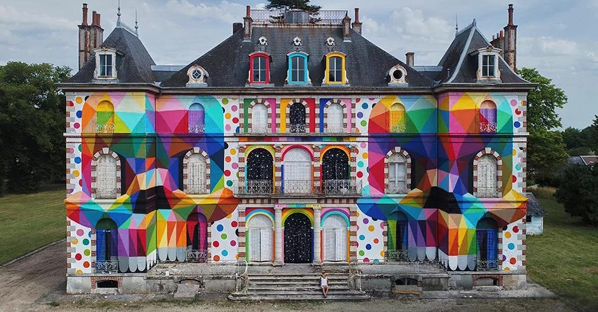 Palácio francês do século XIX