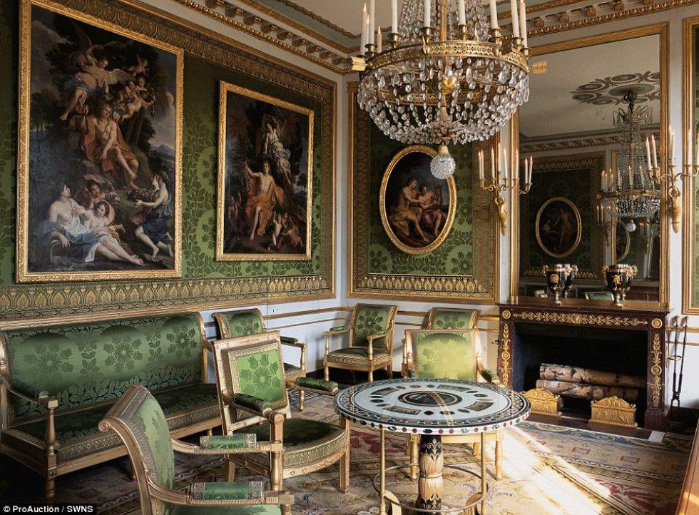 Uma casa-palácio com 45 quartos