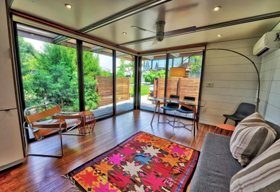Um quarto e sala de estar por 110.000 euros