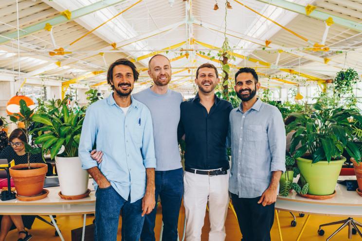 Na fotografia, os fundadores Philip Ilic, Chris Wood,James Coop e Tariq El Asad / Sherlock