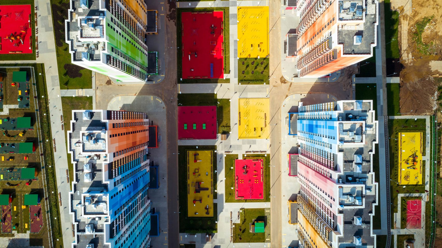 Formado por 47 edifícios