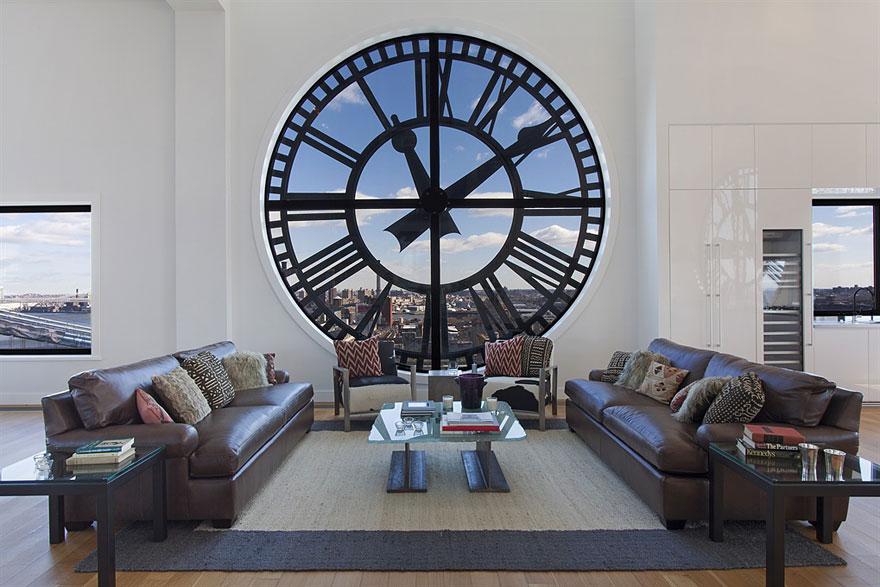 Relógio à vista