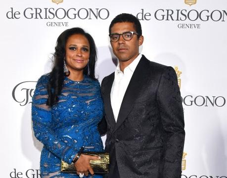 Isabel dos Santos e o marido, Sindika Dokolo / Gtres