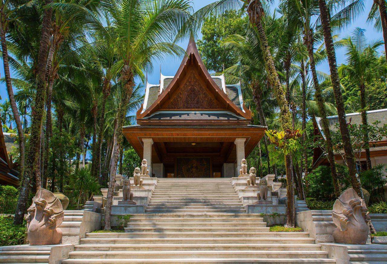 A casa está dentro do resort