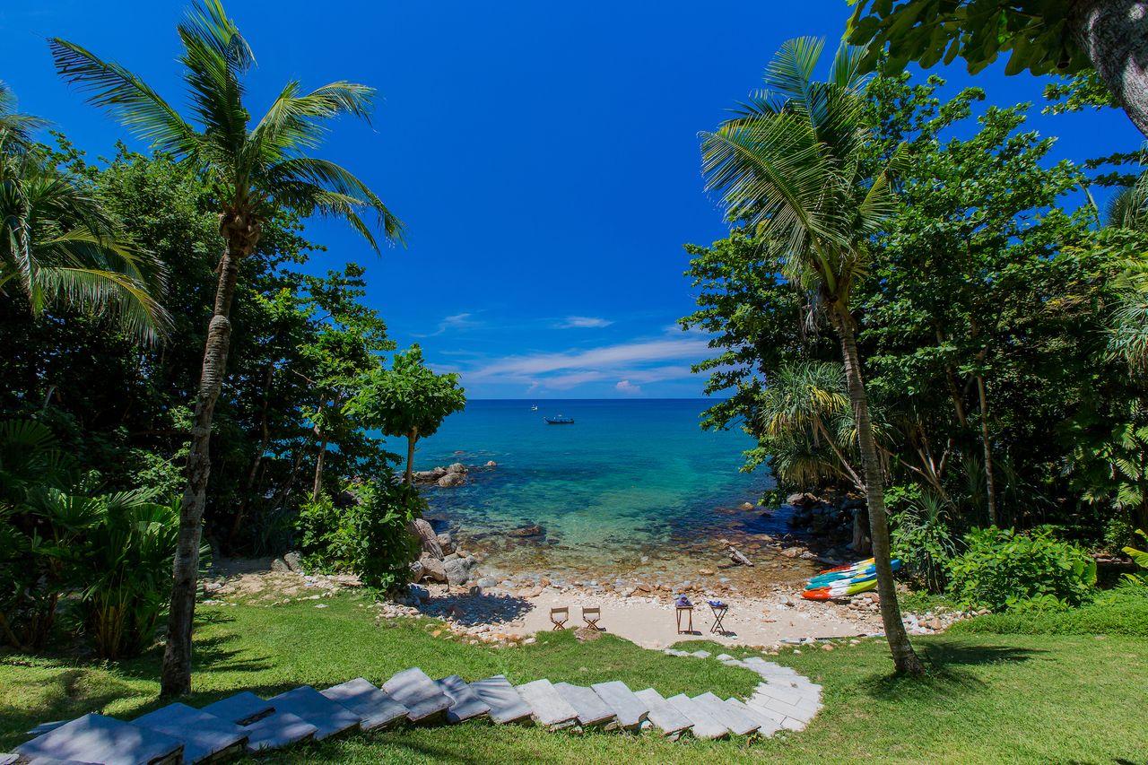 Impressionantes praias da Tailândia