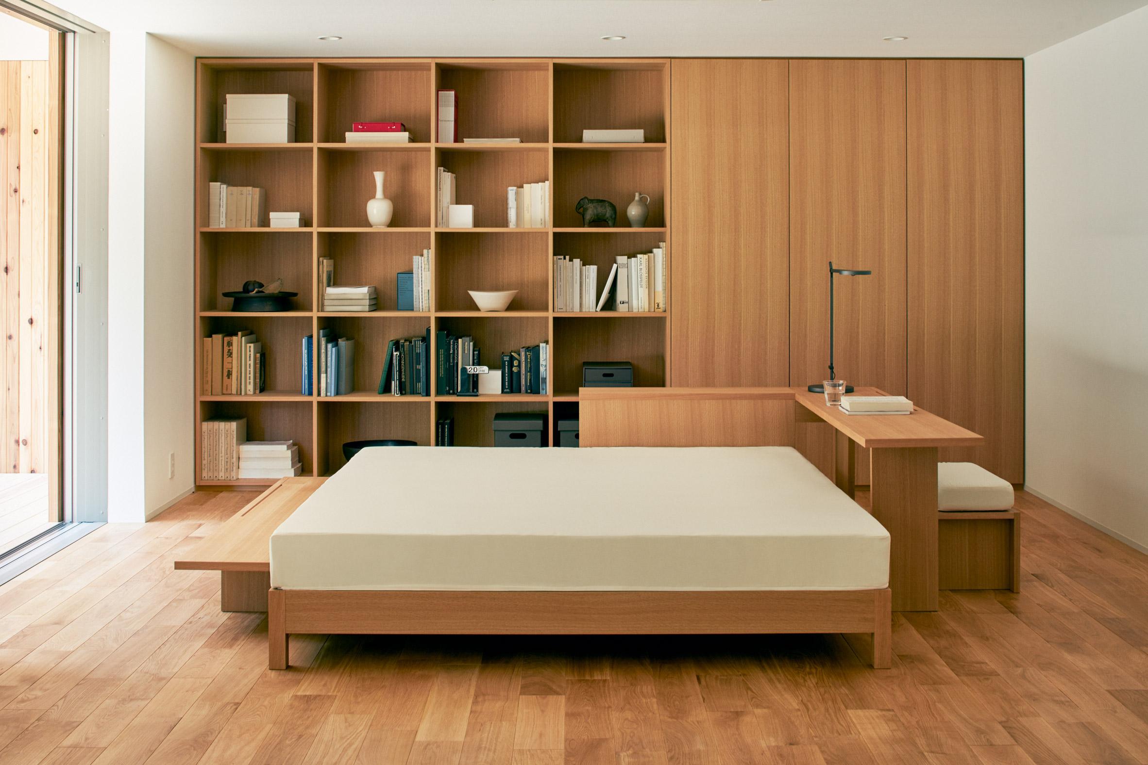 Um quarto minimalista
