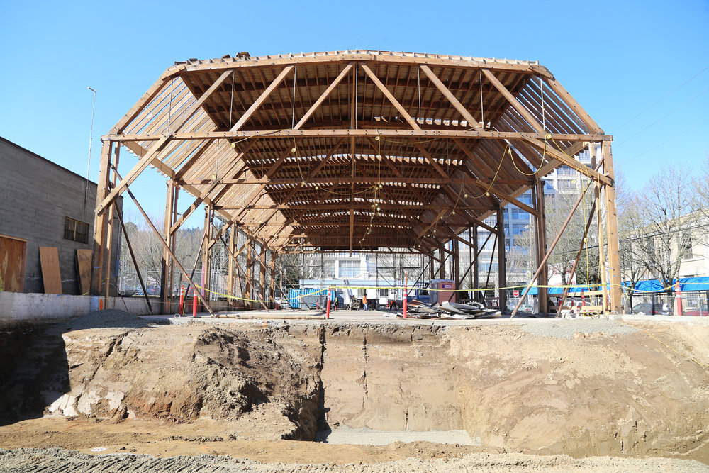 A construção que une as estruturas
