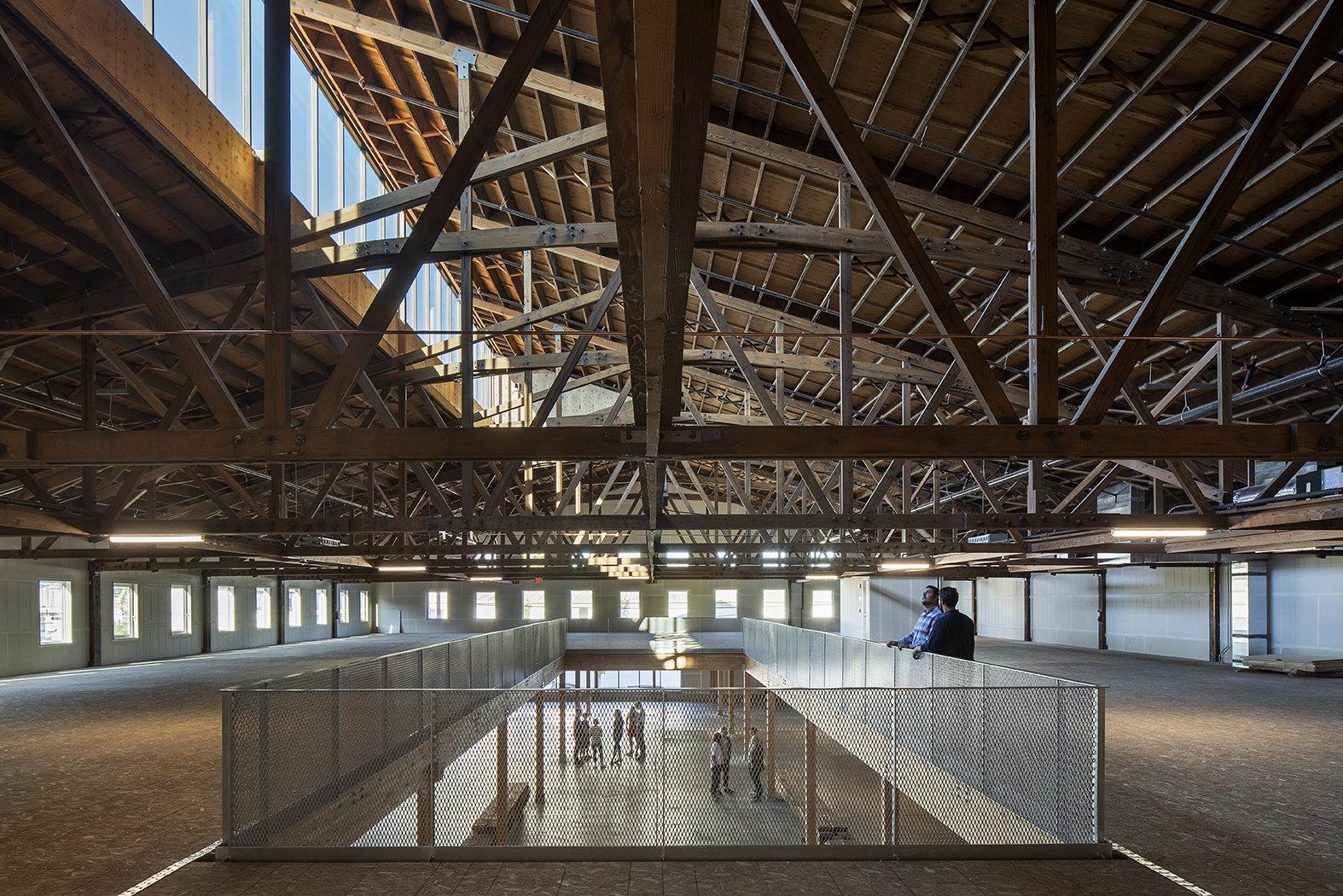 Reflete o passado industrial