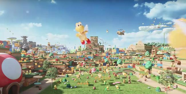 Imagens ilustrativas divulgadas pela Nintendo
