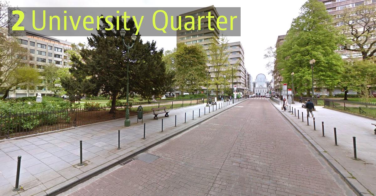 University Quarte, Bruxelas