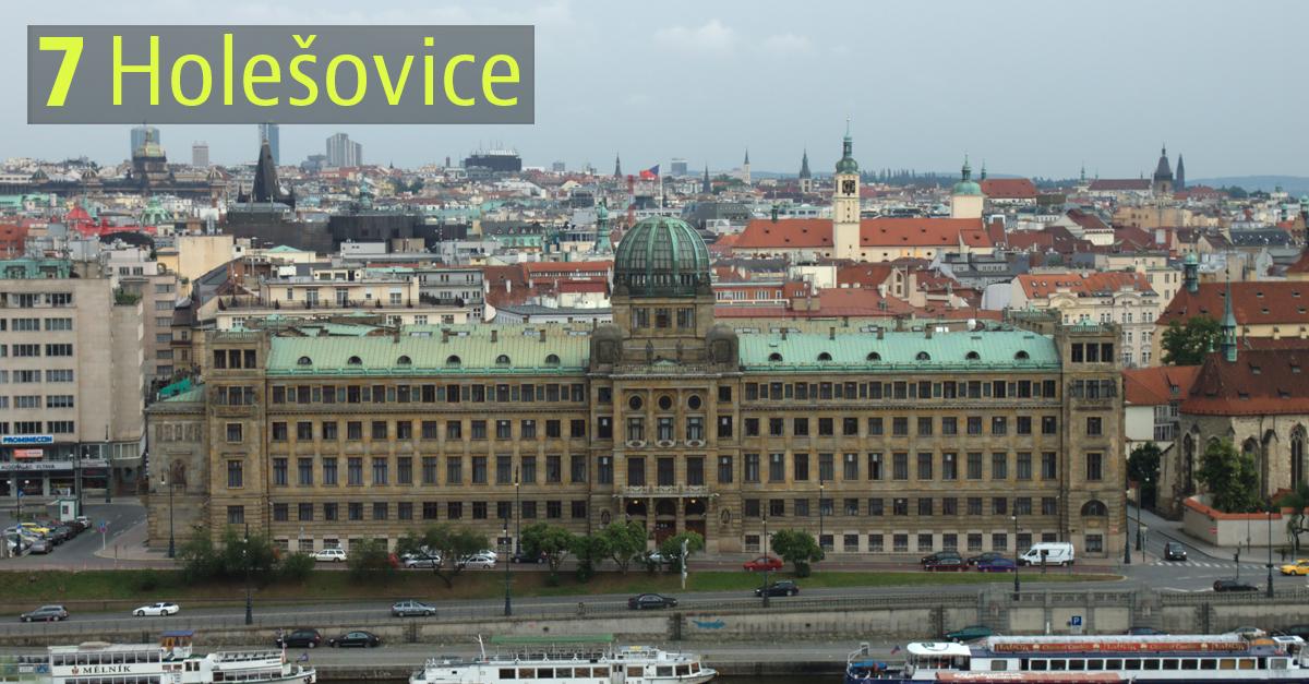 Holešovice, Praga