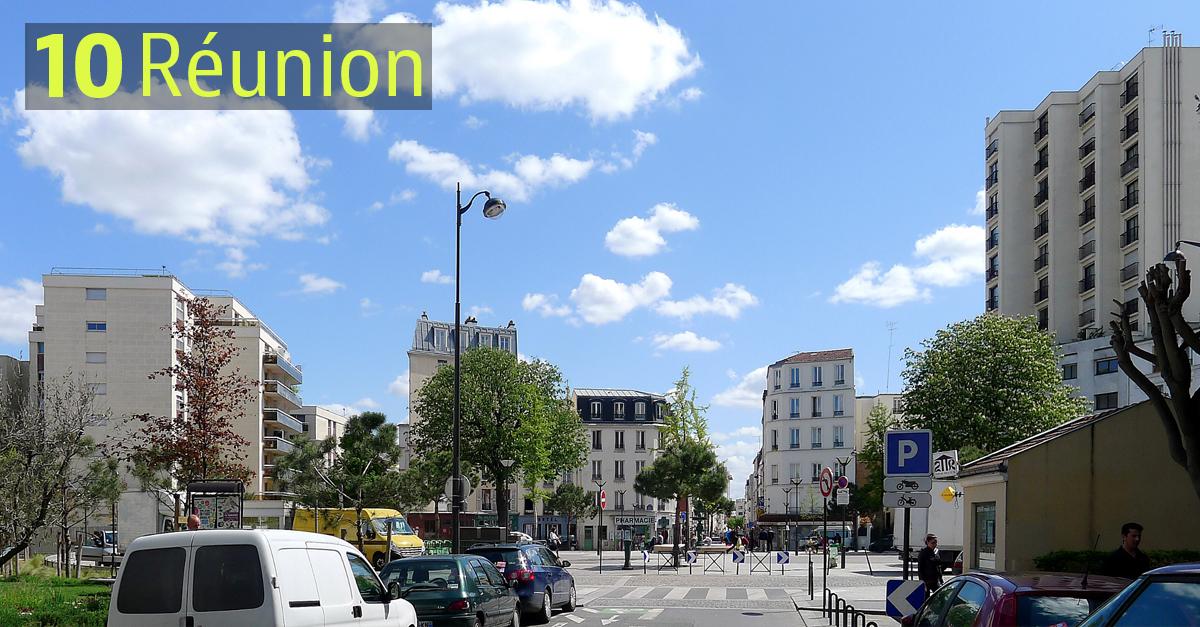 Quartier de la Réunion, Paris