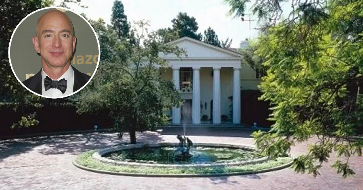 Jeff Bezos é o novo dono da mansão