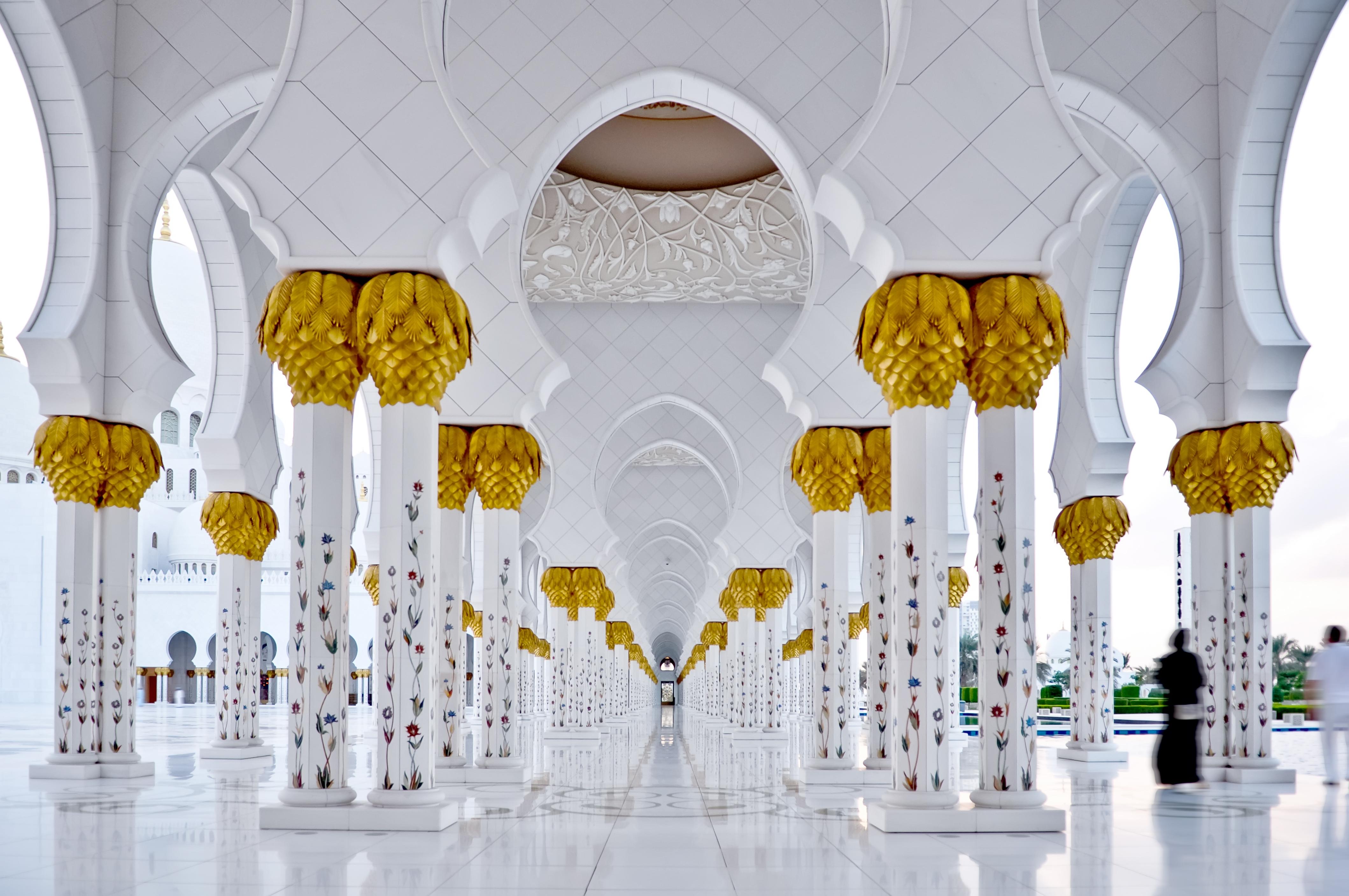 The Grand Mosque, em Abu Dhabi (imagem meramente ilustrativa) / Gtres