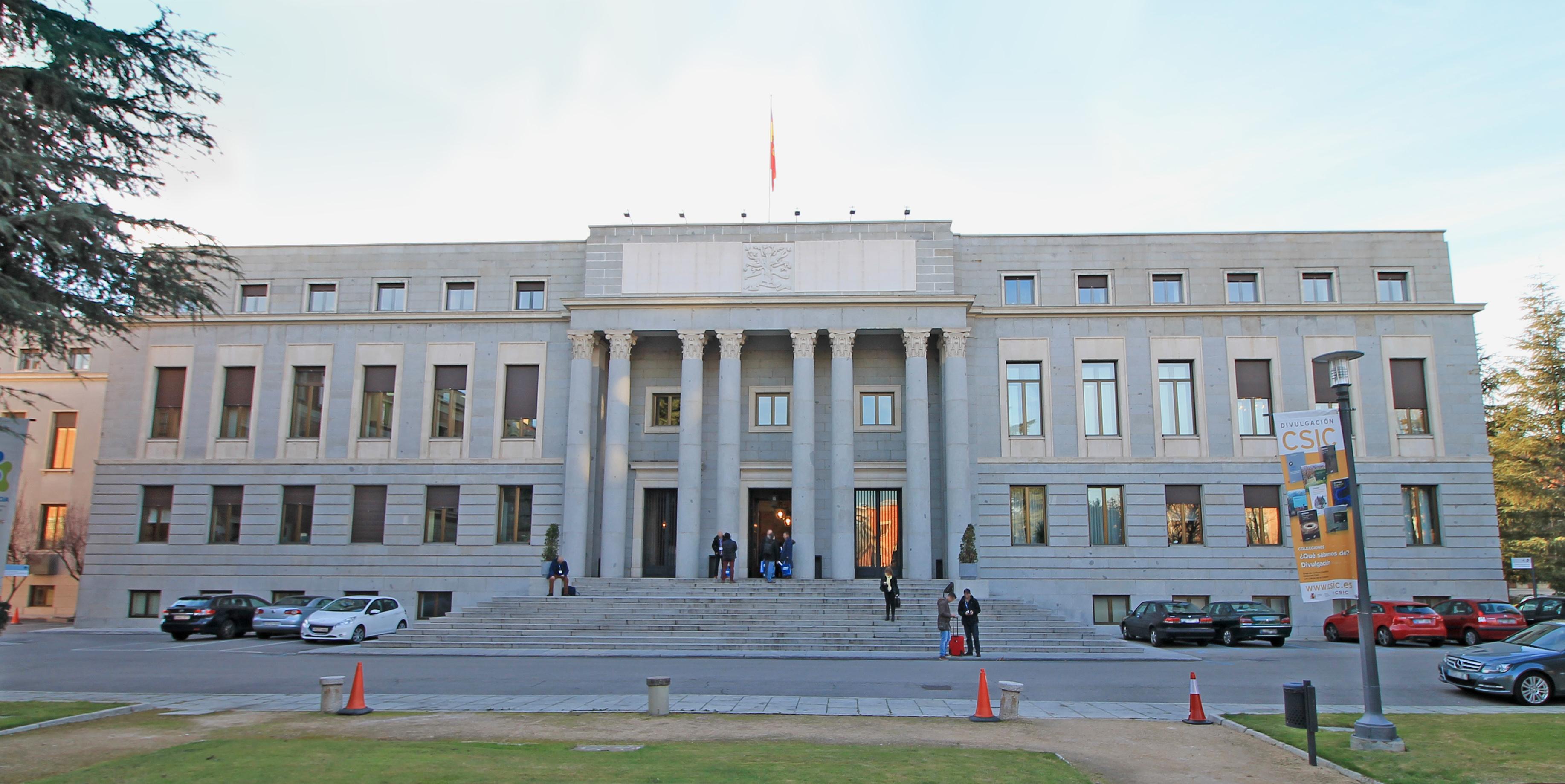 CSIC em Madrid