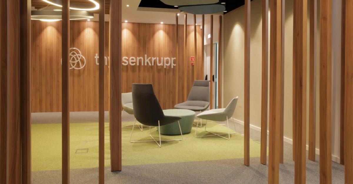 Escritórios da ThyssenKrupp / Lock Corporate Spaces