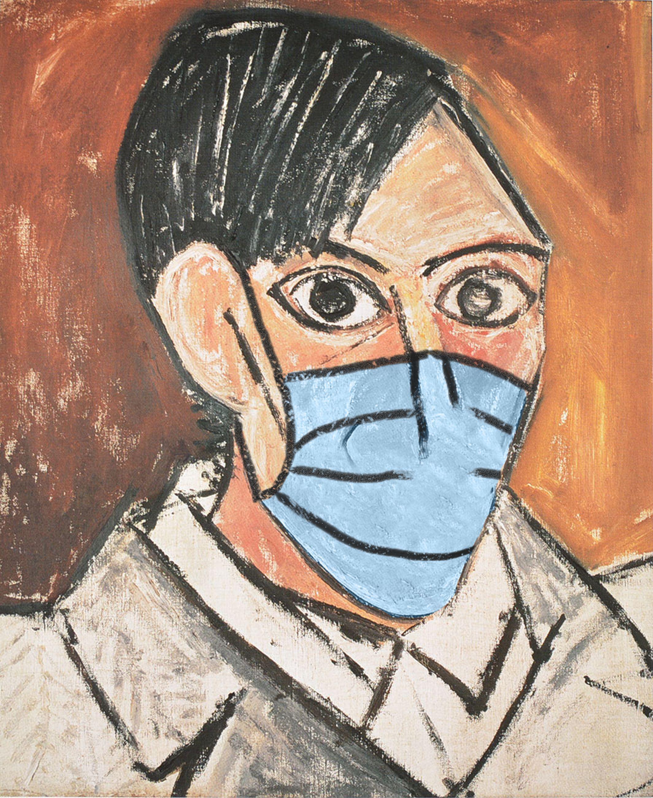 Autorretrato / Pablo Picasso/POA Estudio