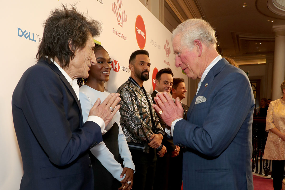 Durante o Prince's Trust Awards 2020 em Londres / Gtres