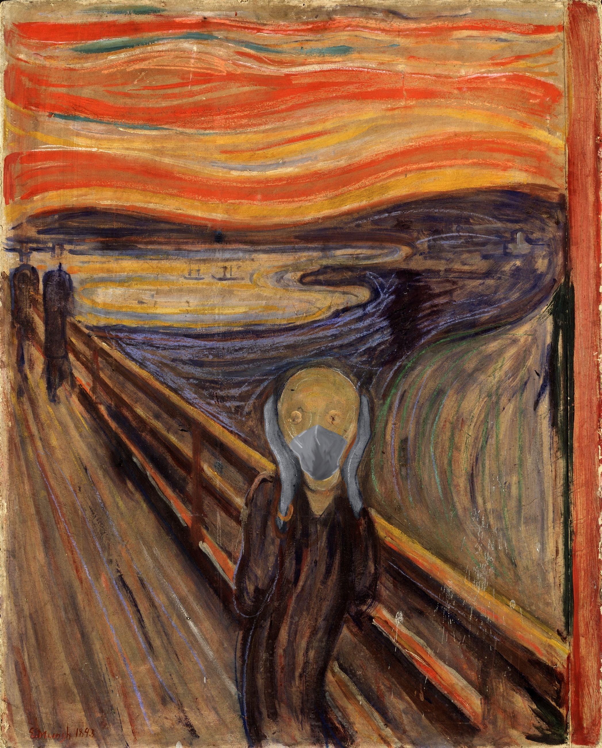 O Grito / Edvard Munch/POA Estudio