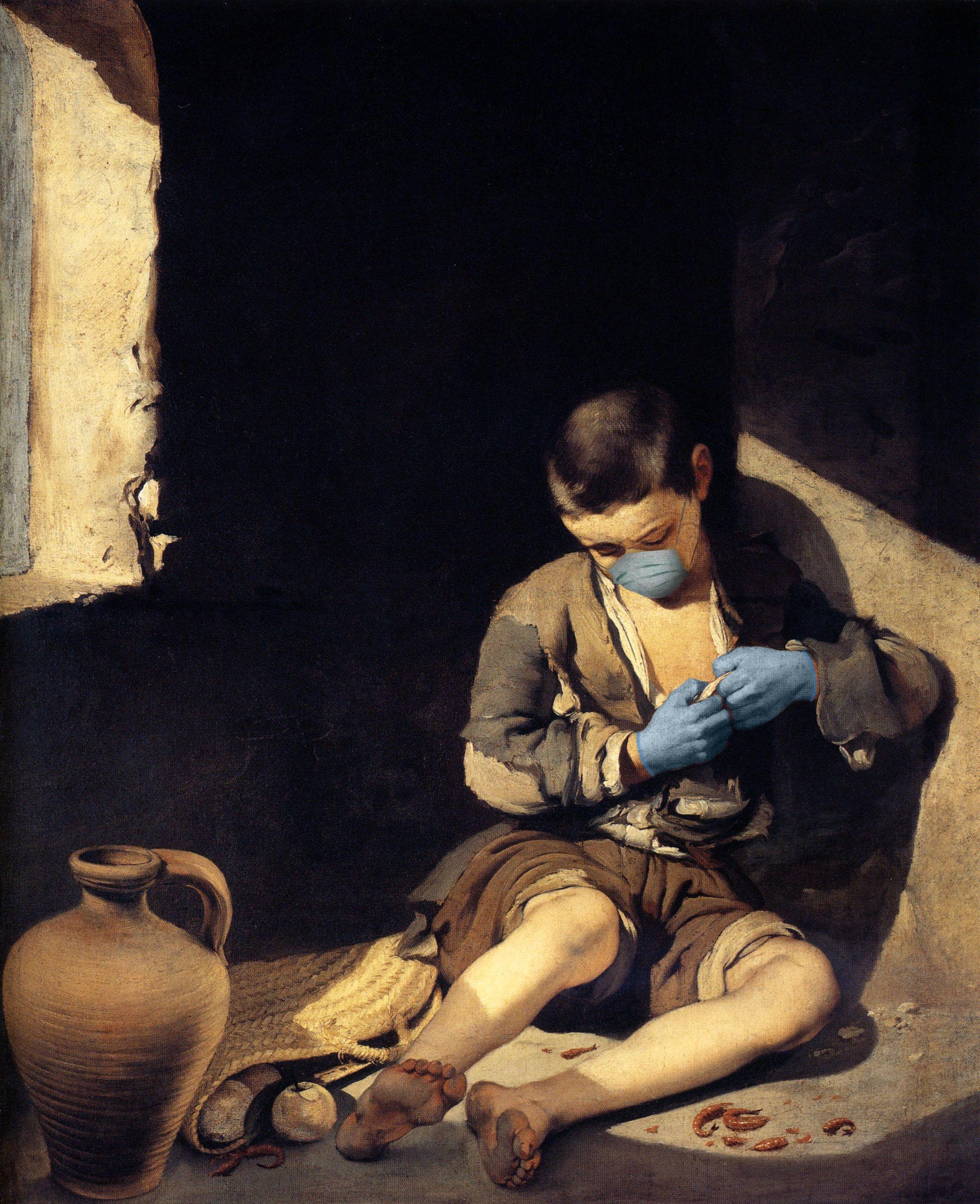 O Jovem Mendigo / Bartolomé Esteban Murillo/POA Estudio