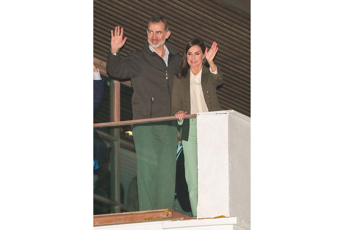 Os reis de Espanha, Filipe e Leticia, em Huelva / Gtres