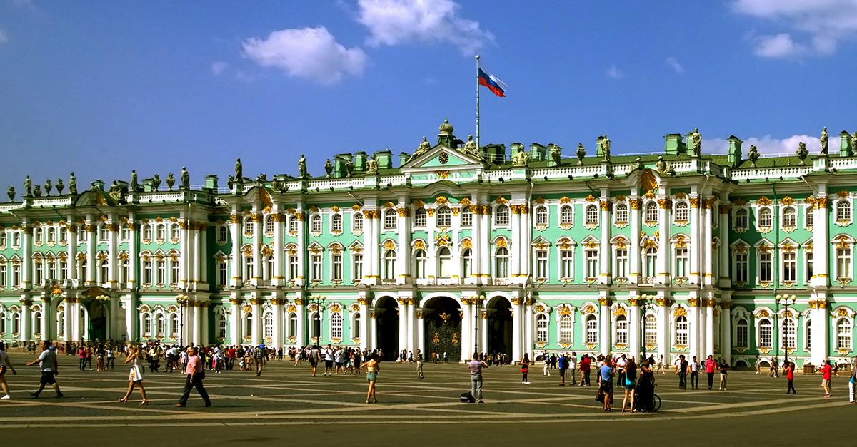 Hermitage, São Petersburgo (Rússia)