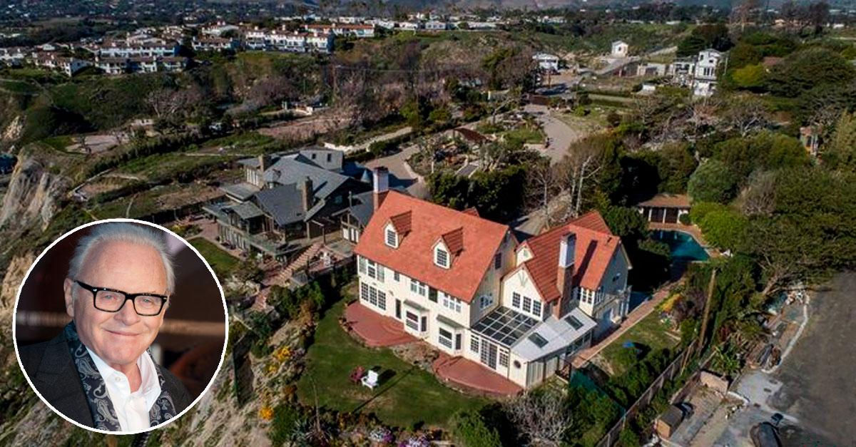 Uma enorme mansão na Califórnia