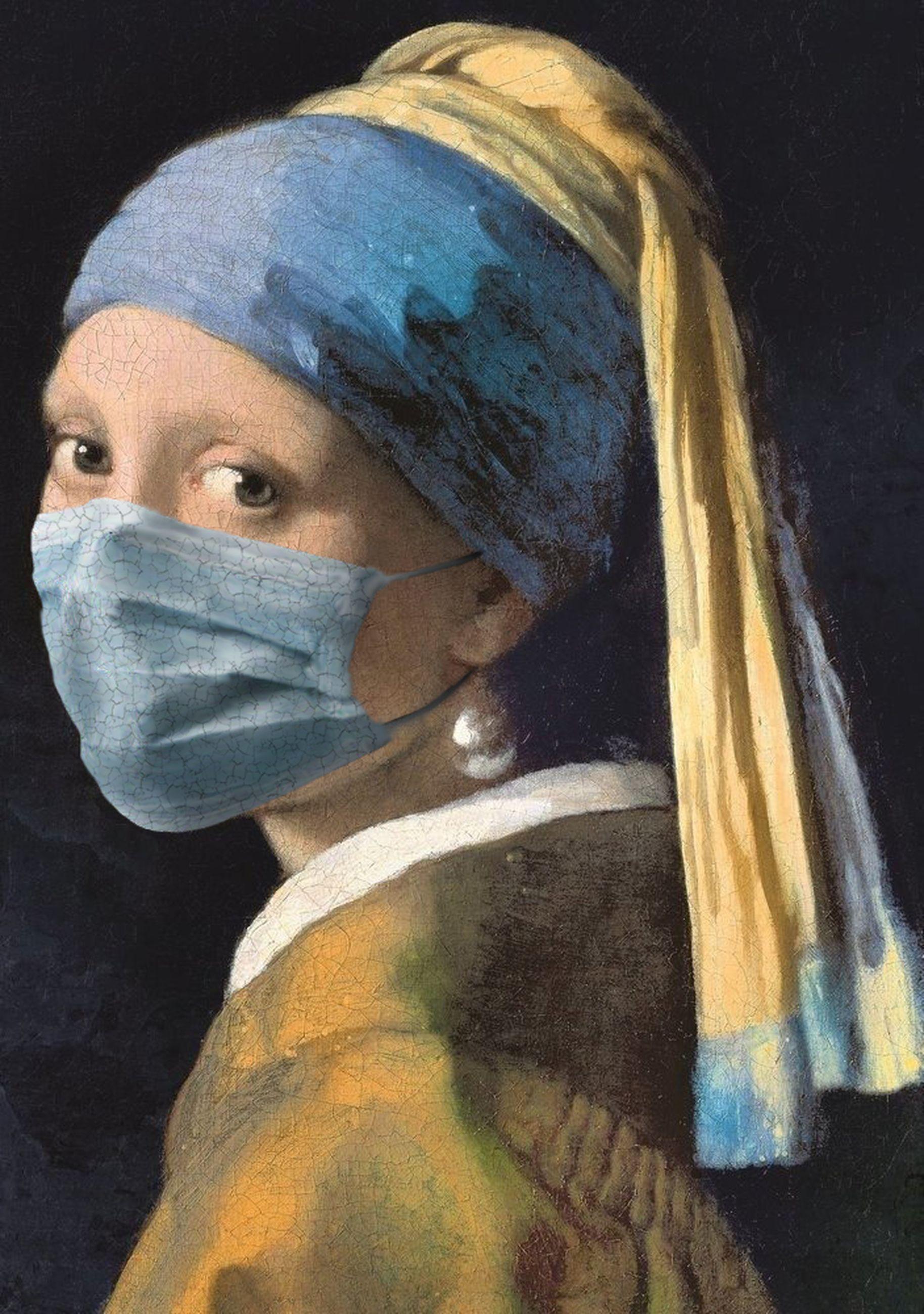 A Rapariga com o Brinco de Pérola / Johannes Vermeer/POA Estudio