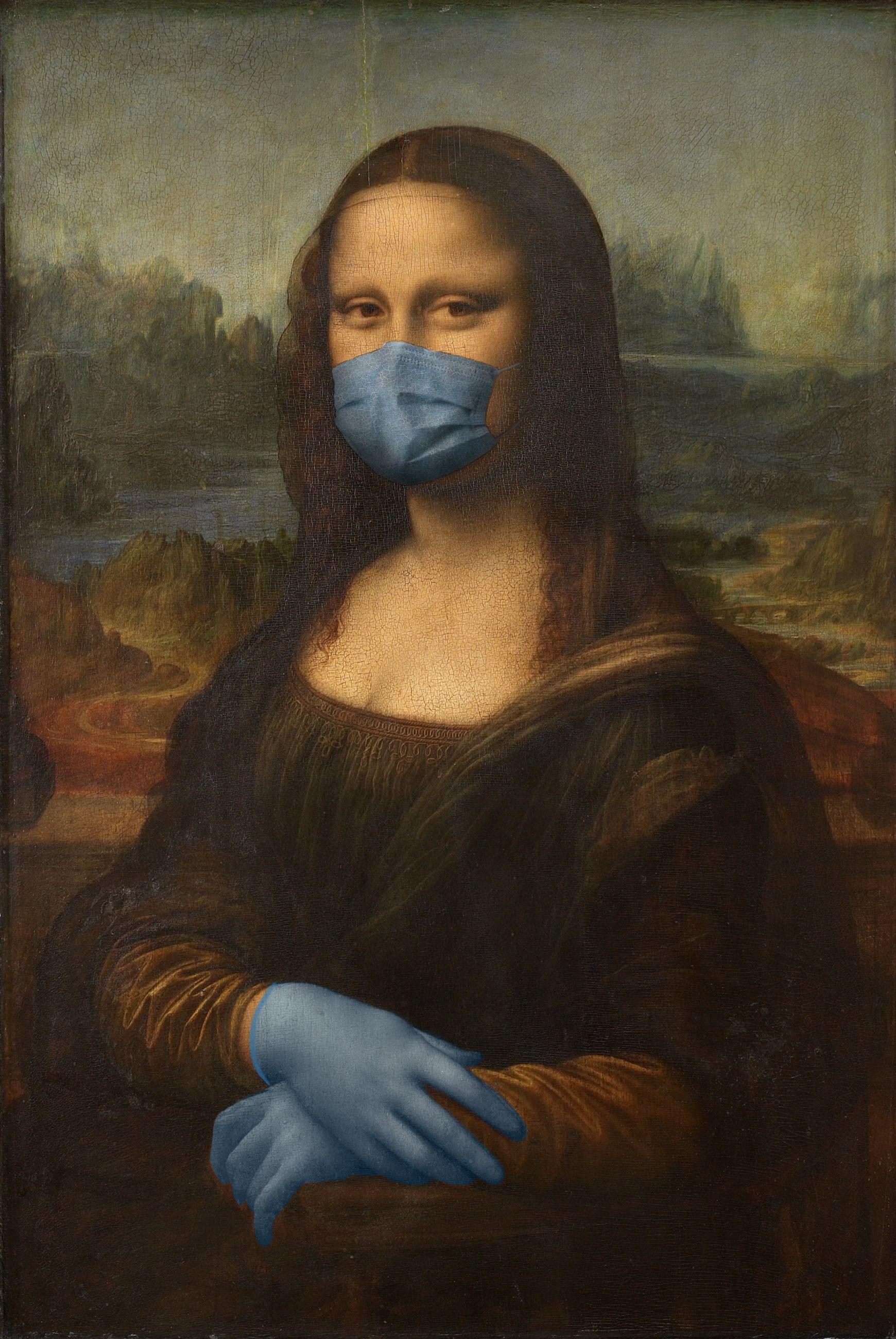 Mona Lisa / Leonardo da Vinci/POA Estudio