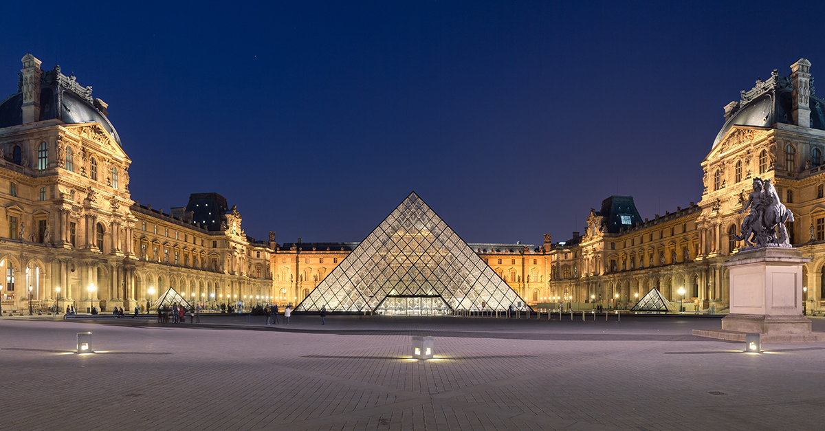 Museu do Louvre, Paris (França)