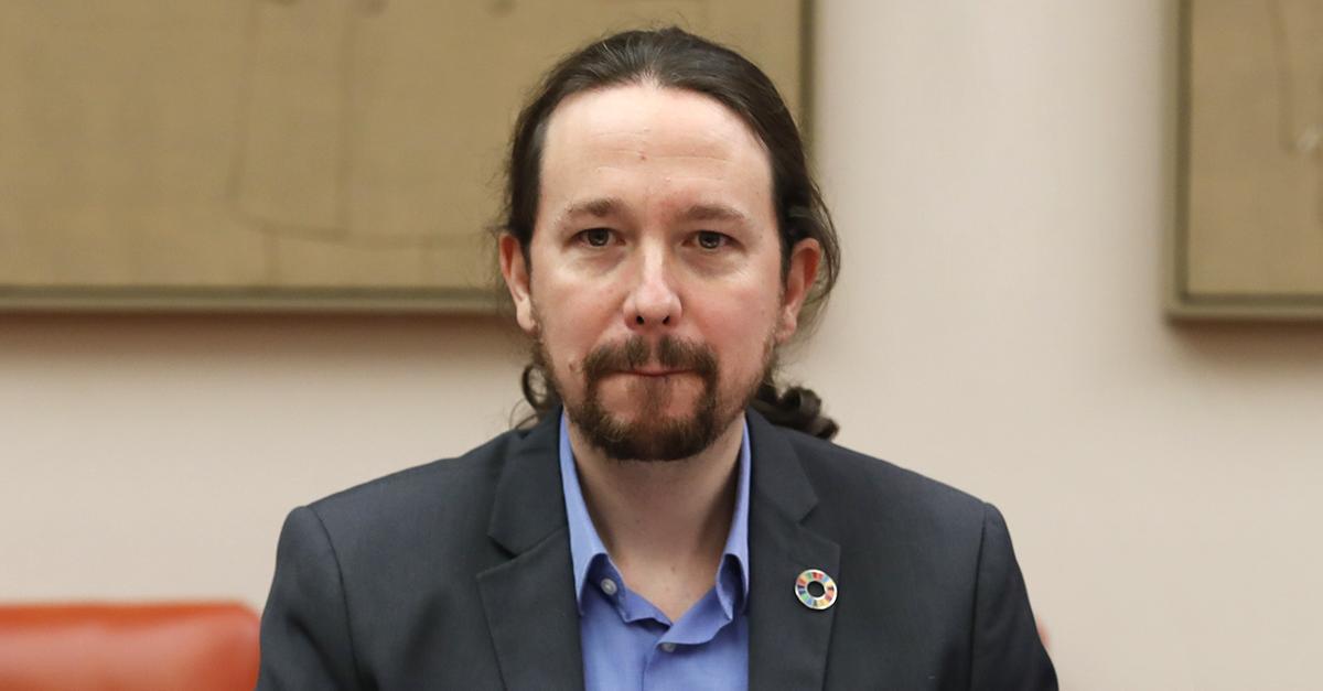 Pablo Iglésias, vice-presidente do Governo espanhol e líder do partido de esquerda Podemos. / Gtres