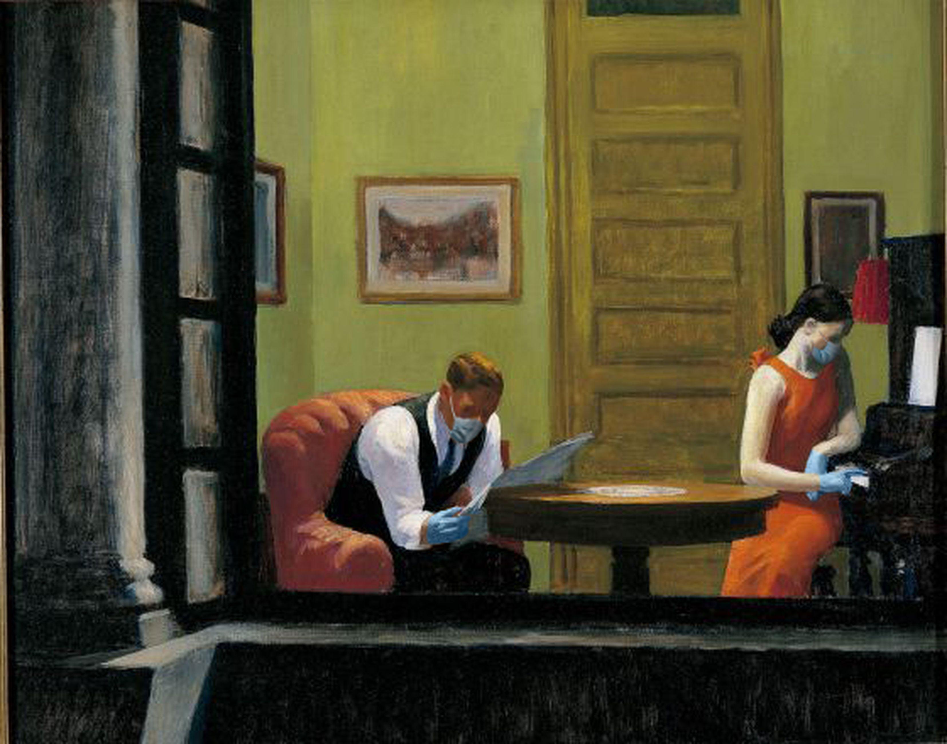 Room in New York / Edward Hopper/POA Estudio