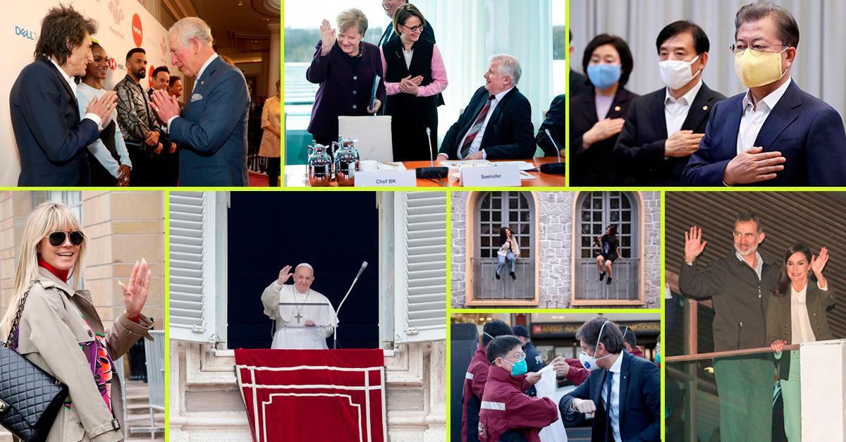 """O novo código de cumprimentos: as alternativas aos """"beijinhos"""" e apertos de mão"""